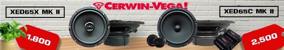 โปรโมชันเครื่องเสียงรถยนต์-cerwin-vega-xed65x-mk-ii-xed65c-mk-ii โปรโมชัน  เครื่องเสียงถรยนต์  Cerwin Vega