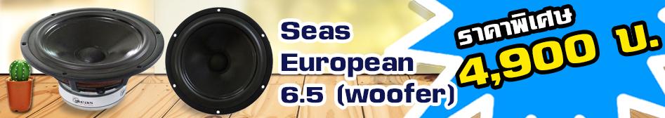 โปรโมชันเครื่องเสียงรถยนต์-seas-european-6-5-woofer เครื่องเสียงถรยนต์  Seas  woofer