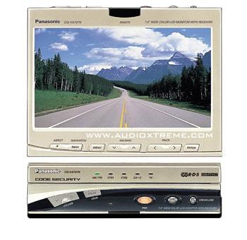 Panasonic CQ-VA707N เครื่องเสียงรถยนต์ สินค้ามือสอง