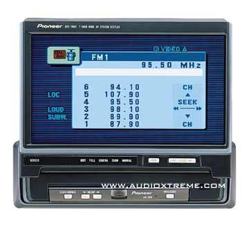 Pioneer AVX-P7000 + GEX-P7000  เครื่องเสียงรถยนต์ สินค้ามือสอง